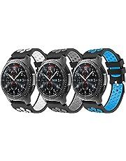 YaYuu Gear S3 Frontier/Classic Correa de Reloj, Reemplazo de Banda de Silicona Suave