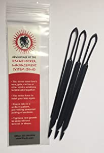 IFBA Dreadlock Management System, DMS Tool 3 Pack- Any Lokz size micro to large.