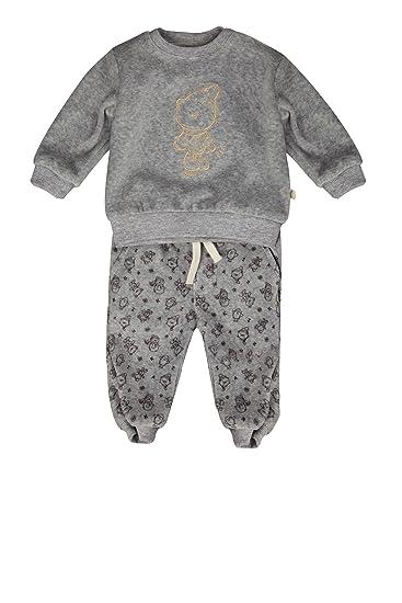 T-Shirt 1//1 Arm Kanz Unisex Baby Bekleidungsset Sweatjacke 1//1 Arm m Jogginghose 0003506 Kapuze