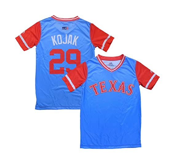 946621bd5 Outerstuff Adrian Beltre Texas Rangers Blue Red Youth Little League Player  Weekend Jersey (Small 8