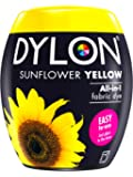 Dylon Machine Dye Pod, 8.5 x 8.5 x 9.9 cm, Sunflower Yellow