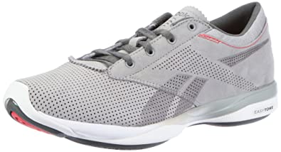 1ee0139f42d4 Reebok Womens Easytone Pride Sports Shoes - Fitness Gray Grau (grey rived  grey