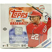 $265 » 2021 Topps Series 1 Baseball Jumbo Box (10 Packs/46 Cards 2 Silver Packs)