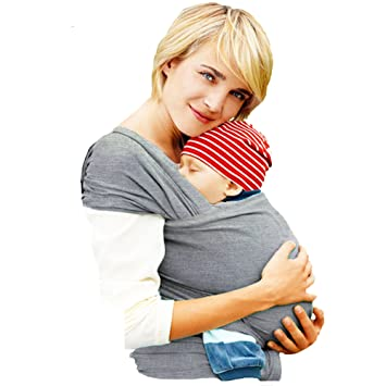 4-in-1 Mother's Touch® Baby Wrap Carrier   Soft Baby Carrier   Baby