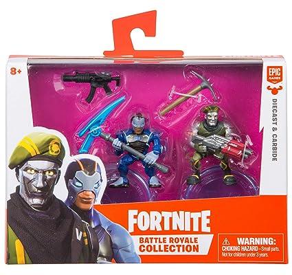 Amazon Com Fortnite Battle Royale Collection Diecast Carbide 2