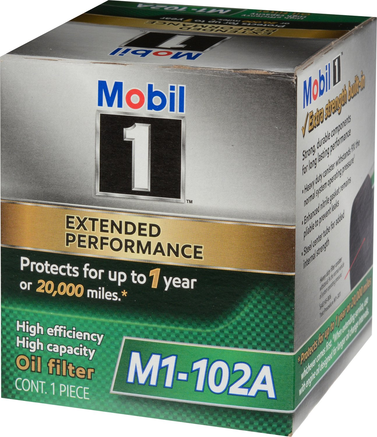 Mobil 1 Oil Filter >> Mobil 1 M1 102a Extended Performance Oil Filter Oil Lube