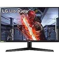 "LG UltraGear LG 27GN600-B 27"" Ultragear Full HD IPS 1ms (GtG) Gaming Monitor with NVIDA G-SYNC Compatible, Black"