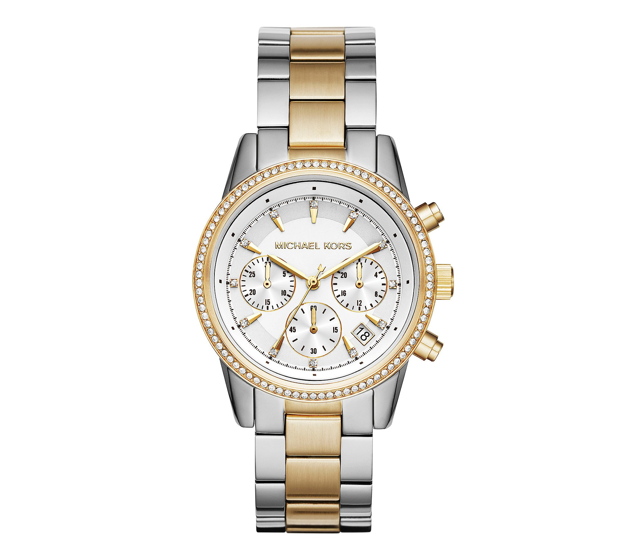 Michael Kors Women's Ritz Silver-Tone Watch MK6474 by Michael Kors