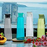 Steelo Seagul Plastic Water Bottle, 1 Litre, Set of 4, Multicolour