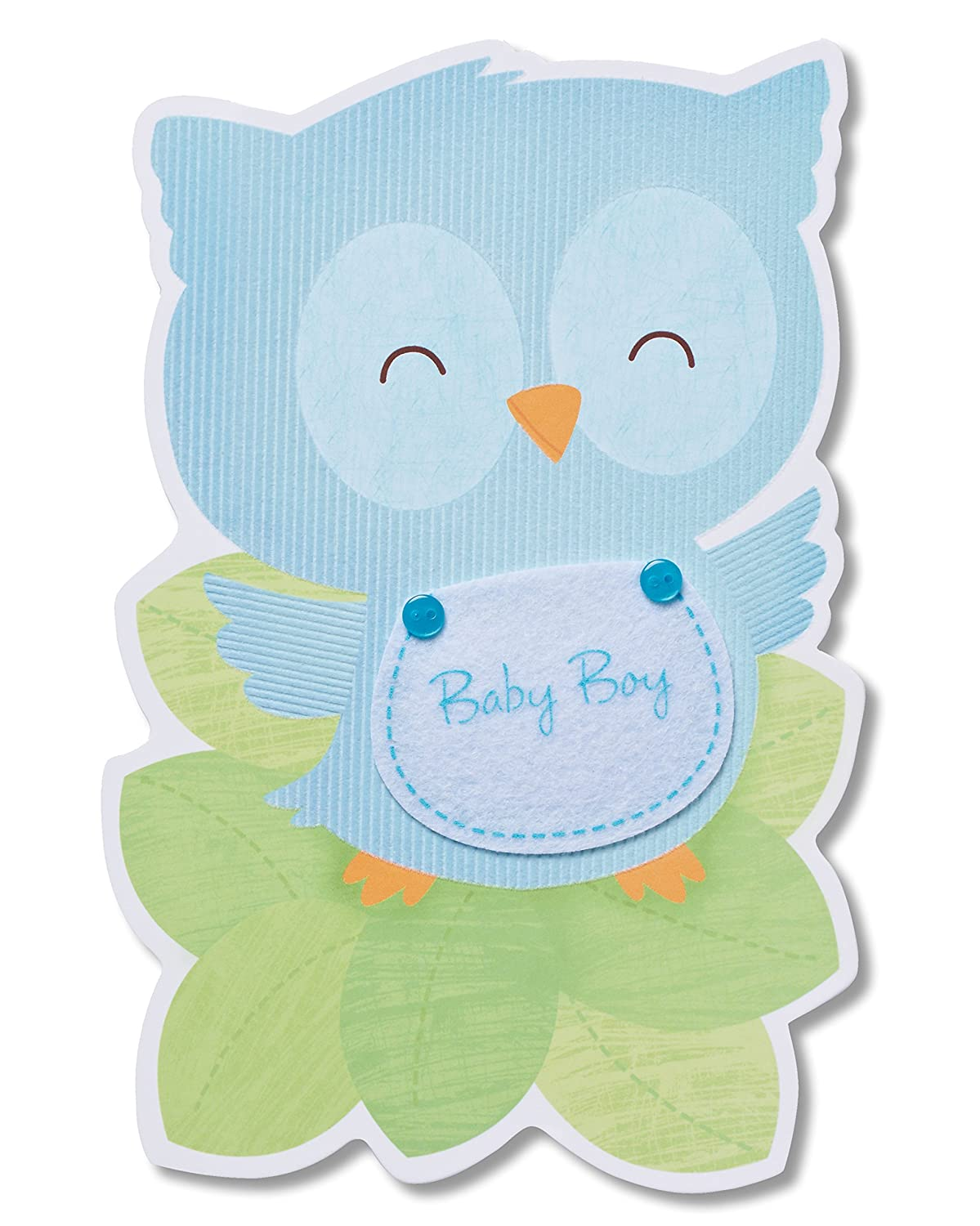 Amazon american greetings baby boy new baby congratulations amazon american greetings baby boy new baby congratulations card office products kristyandbryce Gallery