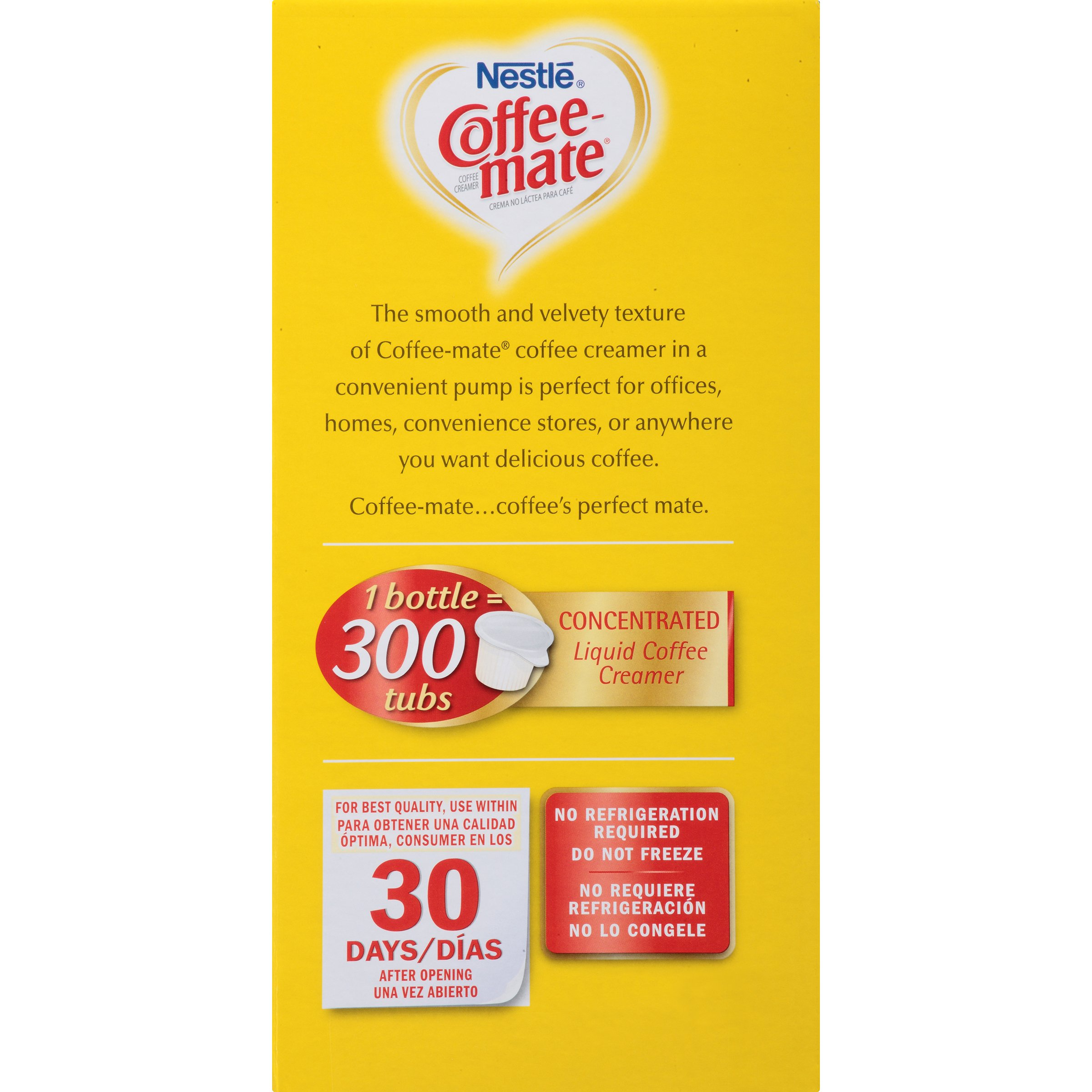 Nestle Coffee-mate Coffee Creamer, Hazelnut,L liquid pump bottle, 50.7 Fl. Oz (Pack of 1) by Nestle Coffee Mate (Image #4)