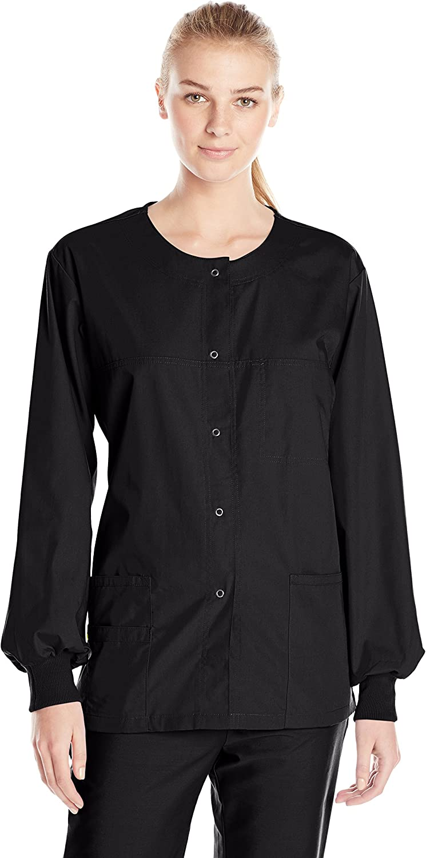 WonderWink Women's Origins Delta Scrub Jacket: Clothing