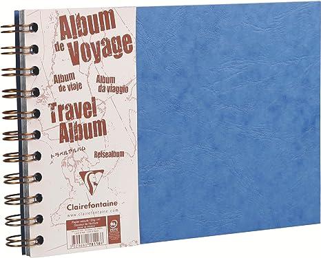 Amazon.com: Clairefontaine 781064 °C – Cuaderno de viaje, A4 ...