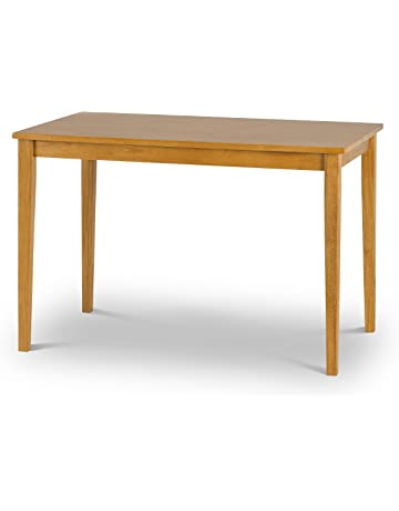 Julian Bowen Dining Table, Natural Oak, 114x71x76 cm eba8e5a5fc10