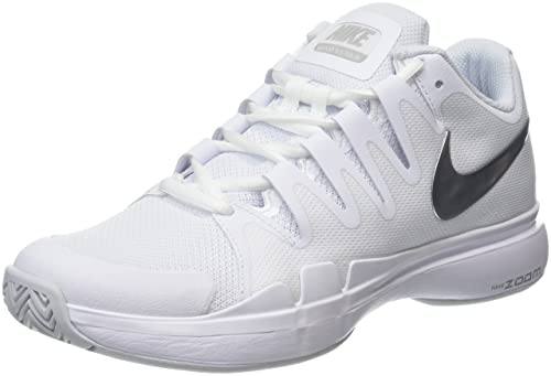 Nike Zoom Vapor 9.5 Tour Scarpe da Tennis Donna Bianco White/BlackBlack 40