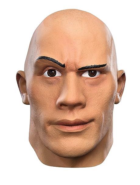Amazon.com: Disfraz de los hombres la Roca Deluxe WWE para ...