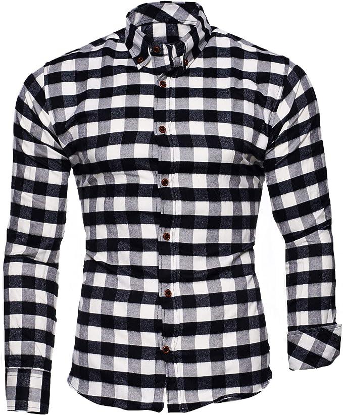 Kayhan Hombre Camisa, Chicago White S: Amazon.es: Ropa y accesorios