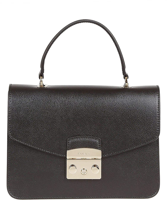 - Furla Women's 903883 Black Leather Handbag