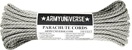 Army Universe ACU Camouflage 550LB Military Nylon Paracord Rope 100 Feet 7350be03f64