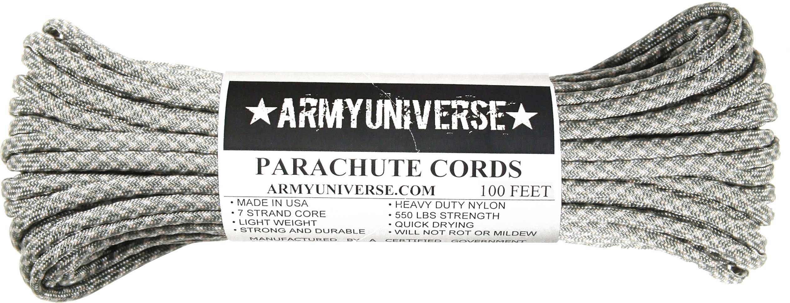 Army Universe ACU Camouflage 550LB Military Nylon Paracord Rope 100 Feet by Army Universe (Image #1)