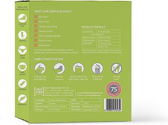 Producto sanitario de higiene femenina y pañales eliminación ...