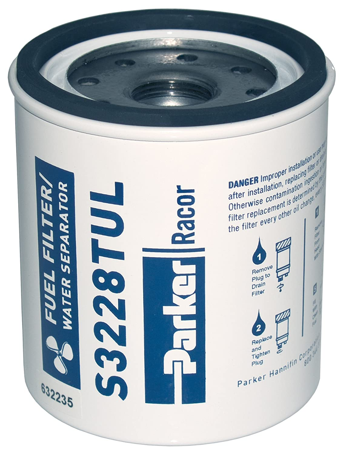 Amazon.com : Racor 320R-Rac Series Gasoline Fuel Filter (Outboard or  Inboard) : Boat Fuel Filters : Sports & Outdoors