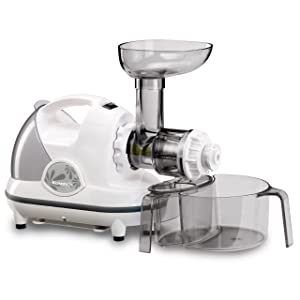 Kuvings NJE3540U Masticating Slow Juicer, White