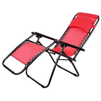 outcamer chaise longue transat pliable et portable pour le jardinbalcon bureauterrasse - Transat Balcon