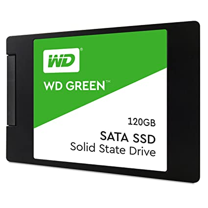WD WDS120G2G0A 120GB 2.5-inch Internal SSD (Green) Internal Solid State Drives at amazon
