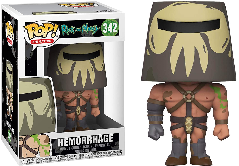 Animation Hemorrhage #342 Vinyl Figure Bundled with Pop Box Protector Case RICK AND MORTY Funko Pop