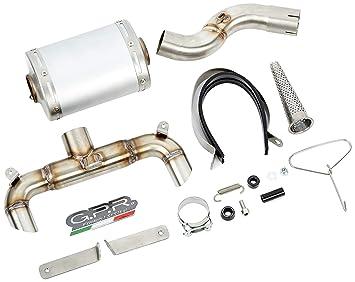 Escape GPR Aluminio GHOST SUZUKI GSR 600 2006/11 GHOST LINE: Amazon.es: Coche y moto