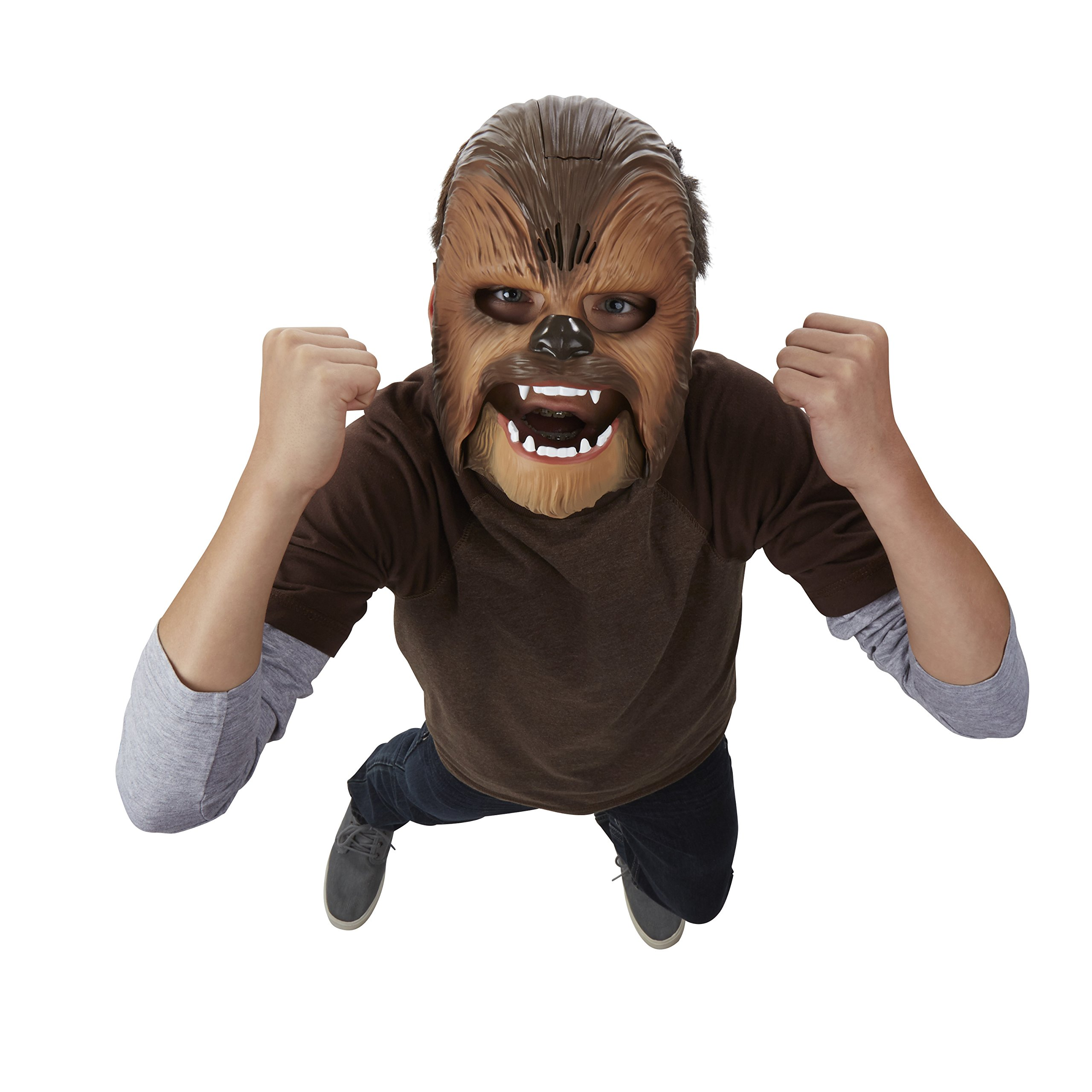 Star Wars Movie Roaring Chewbacca Wookiee Sounds Mask, Ages 5 and up (Amazon Exclusive) by Star Wars (Image #3)