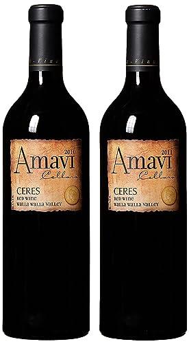Amavi Cellars Les Collines Vineyard u0026quot;Ceresu0026quot; 2010 u0026 2011 Vintage Vertical ...  sc 1 st  Amazon.com & Amavi Cellars Les Collines Vineyard