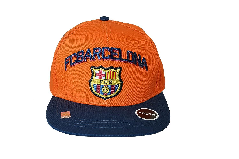 ユースFC Barcelona Authentic Official Licensed Product Soccerキャップ – 02 – 4 B07B8GBQQ2