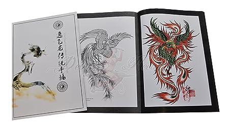 Tatuaje-libro - dragón + Phönix (diseño de dragón y Phoenix ...