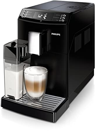 Philips 3100 series EP3551/00 - Cafetera (Independiente, Máquina espresso, 1,8 L, Granos de café, De café molido, Molinillo integrado, Negro): Amazon.es: ...