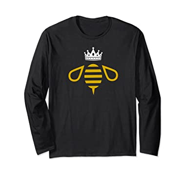 a19dc5000df Amazon Com Queen B Queen Bee With A Crown Shirt Clothing