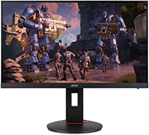 "Acer XF270H Bbmiiprx 27"" Full HD (1920 x 1080) Zero Frame TN AMD FreeSync and NVIDIA G-SYNC Compatible Gaming Monitor - 1ms 