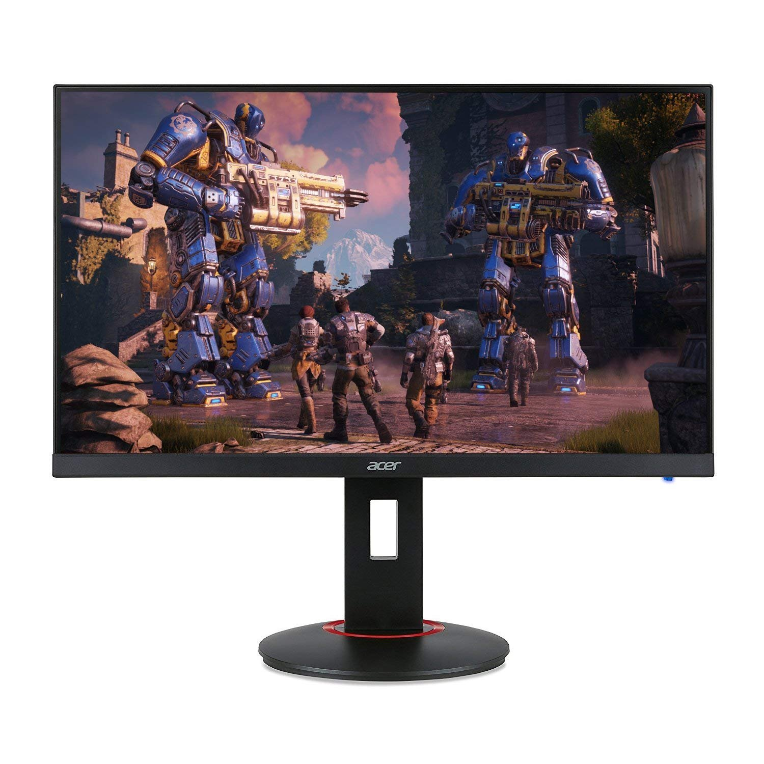 Acer XF270H Bbmiiprx 27 Full HD 1920 x 1080 Zero Frame TN AMD FreeSync and NVIDIA G-SYNC Compatible Gaming Monitor – 1ms 144Hz Refresh Display Port 1.2 2 x HDMI 2.0 Ports