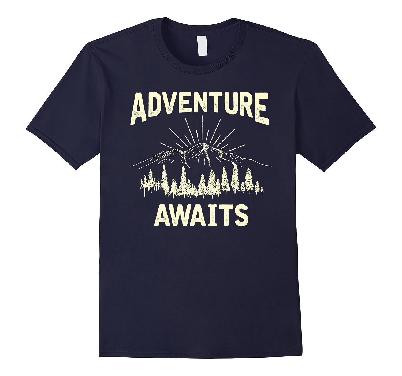 Adventure Awaits Camping Shirt-TH