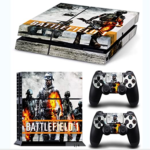 9 opinioni per GNG Adesivi In Vinile Per PS4 Con Il Logo Di Battlefield 1 Per Console E Per 2x