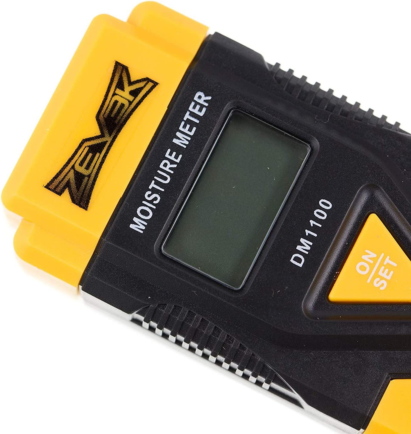 Zevek Digital Moisture Meter Detector Tester CE Approved-Detects Damp in Wood or