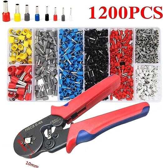 0,25-10mm pince à sertir fil de sertissage outil avec la borne de fil 1200PC IY