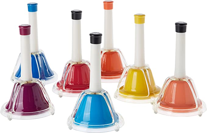 Percussion Workshop CB7 - Set de 7 campanas, multicolor: Amazon.es ...