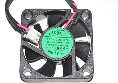 Adda 4010 ad0412mx-g70 12 V 0,08 A 2 Cables Ventilador de ...