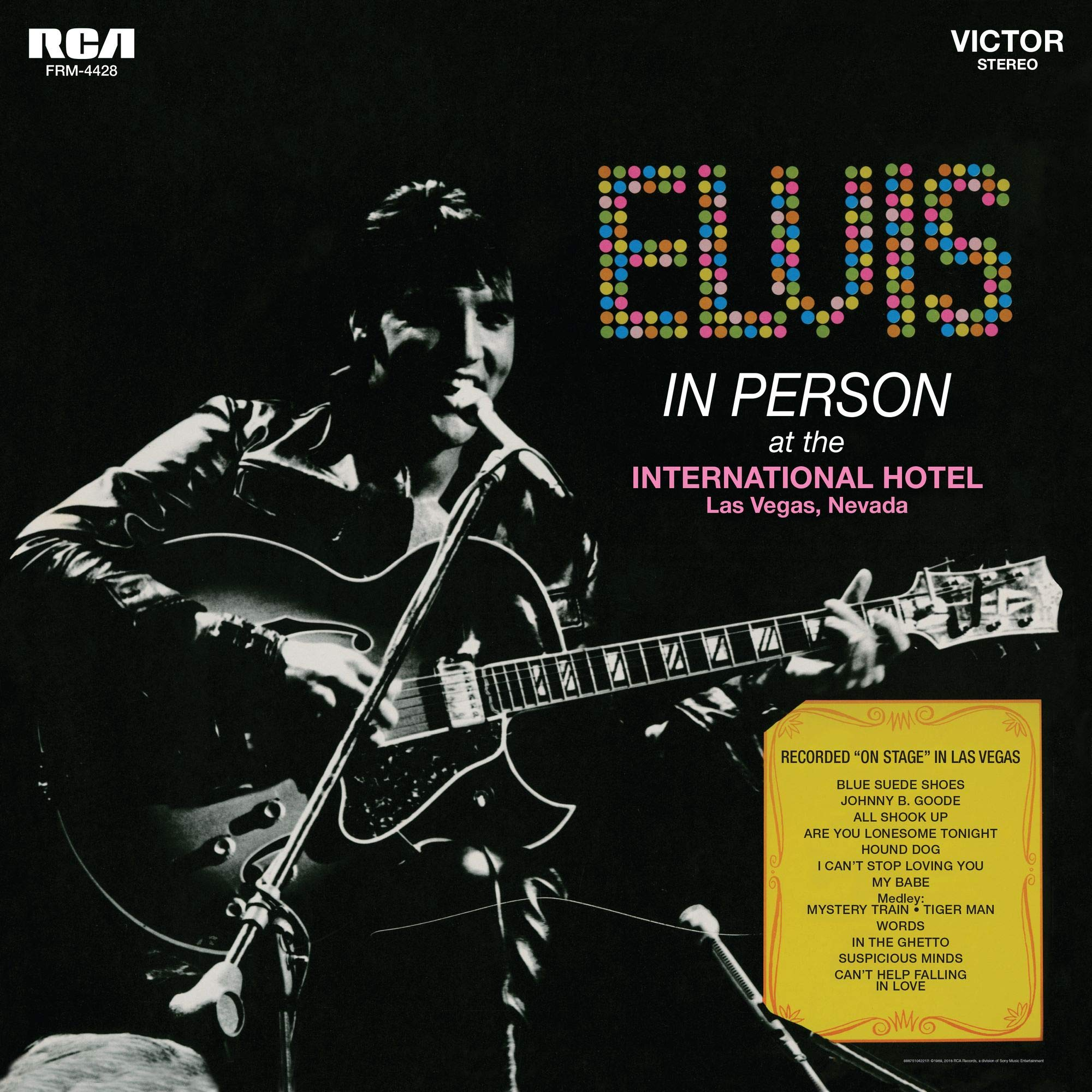 Vinilo : Elvis Presley - In Person At The International Hotel Las Vegas Nevada (180 Gram Vinyl, Limited Edition, Gatefold LP Jacket, Audiophile, Gold)