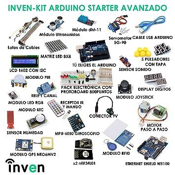 Inven Kit Arduino Avanzado - Mega Compatible