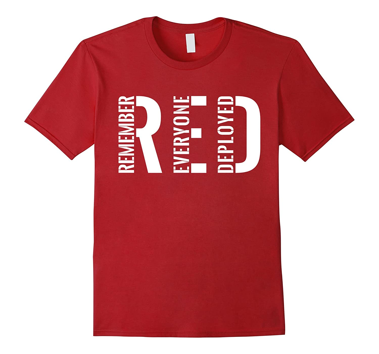 Remember Everyone Deployed Red Friday Shirts-RT