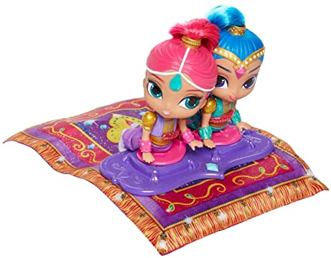 Shimmer and shine dgl84 playset bambola elettronica tappeto