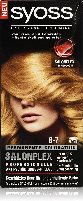 syoss 8 – 7 miel Rubio Color del pelo (3 unidades, X 115 ml)